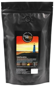 Свежеобжаренный coffee Taber Santa Cruz in beans, 500g