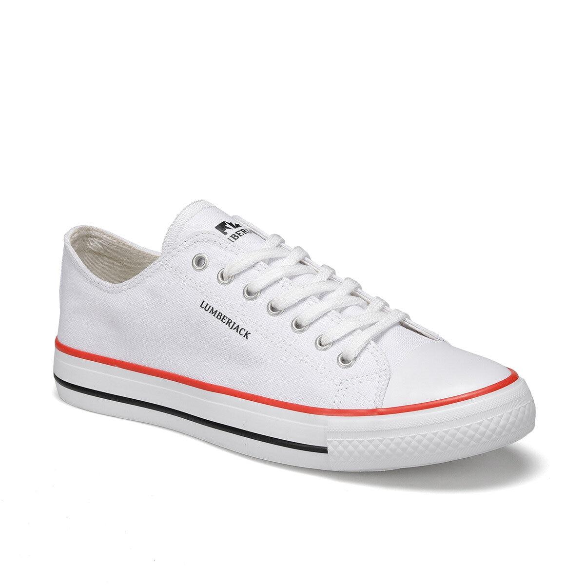 FLO MAXWELL White Male Sneaker LUMBERJACK