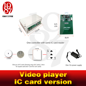 Image 4 - Room escape gadget video player prop put IC card in card reader to get the video clue chamber room game jxkj1987 for adventure