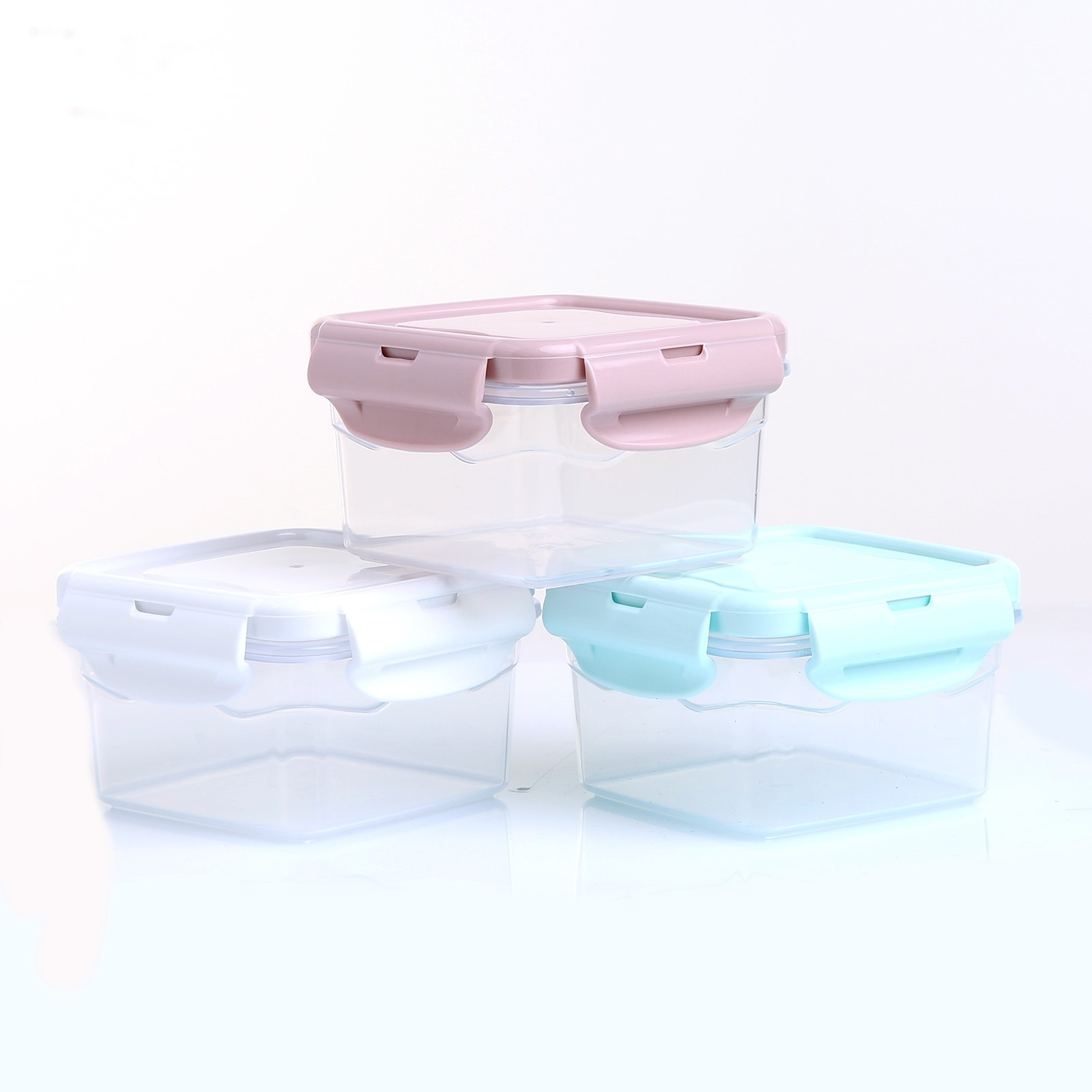 Ebebek Baby&plus Square Storage Container 300 Ml