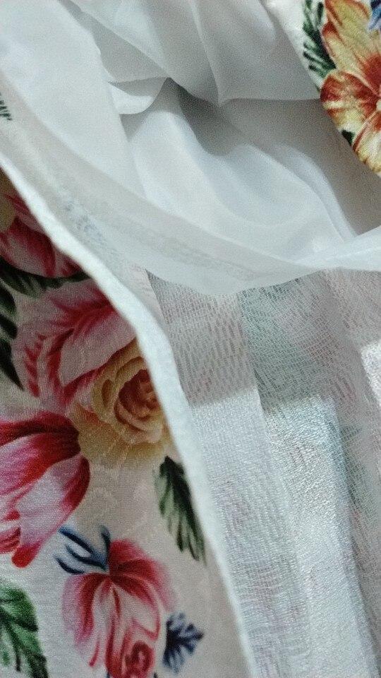 Ladies  Jacquard Flower Print Pleated Ball Gown Skater Midi Skirts Womens Vintage Floral High Waist Saias photo review