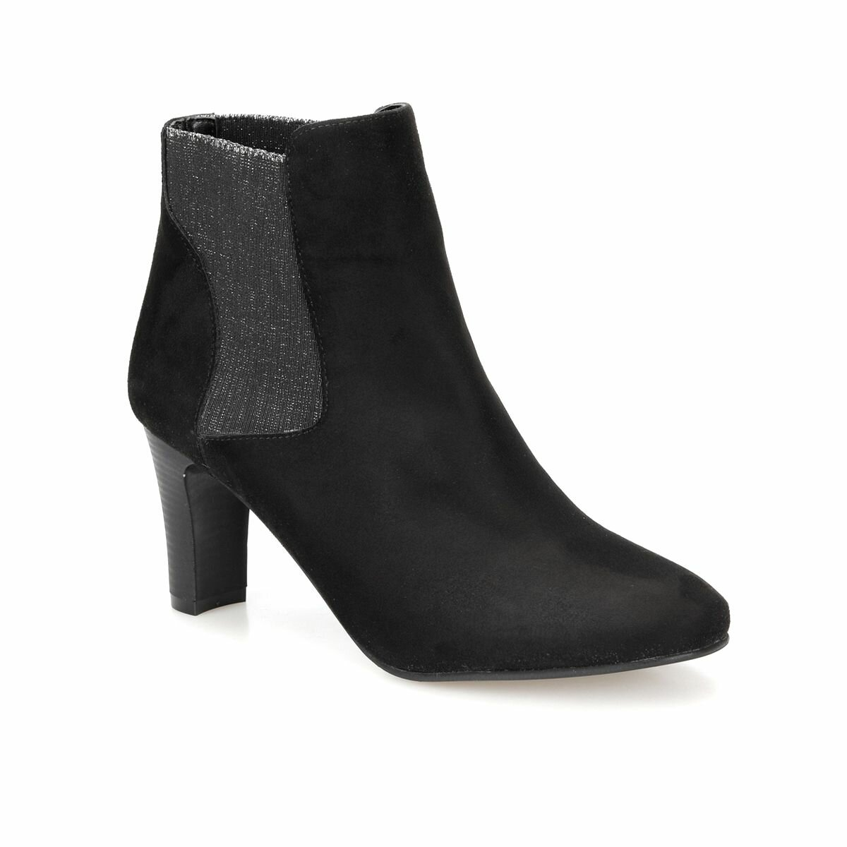 FLO DW18092 Black Female High-Heeled Boots Miss F
