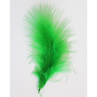 Ht108a22 turkey feather 9 13 cm, Astra (20 pcs/pack) (90 Green)