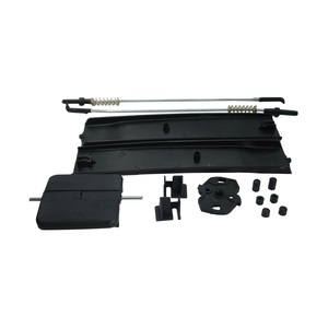 Image 3 - Bross Auto Parts BDP964 Side Sliding Window Glass Latch Cover Repair Set 7H0847788A, 7H0847781B, 7H0847785 for VW T6 Caravelle