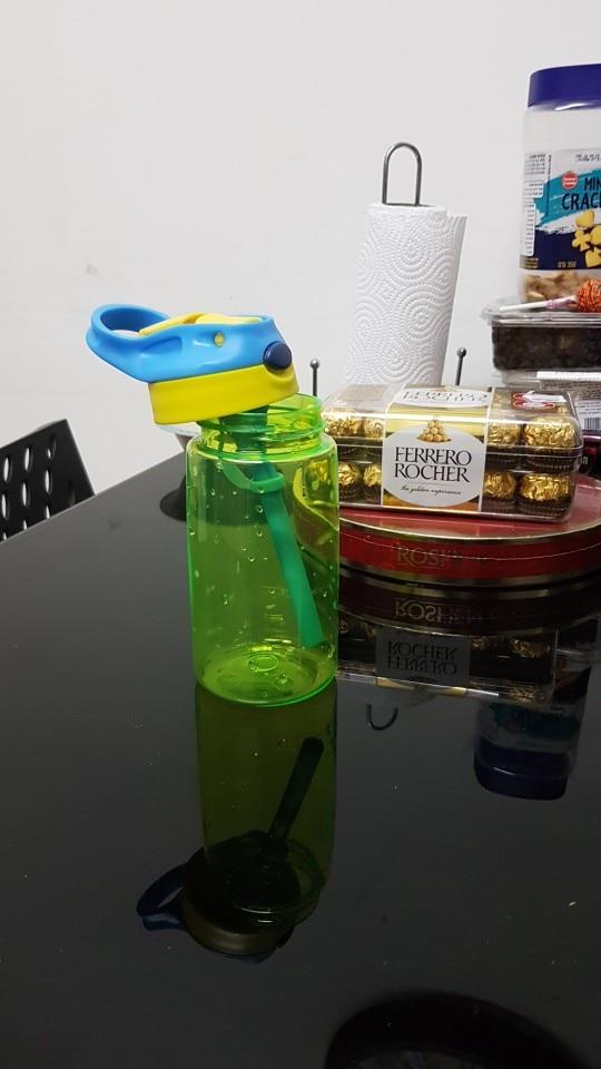 New 500ML 4 Colors Baby Water Bottles Infant Newborn Cup Children Learn Feeding Straw Juice Drinking Bottle BPA Free for Kids|Water Bottles|   - AliExpress