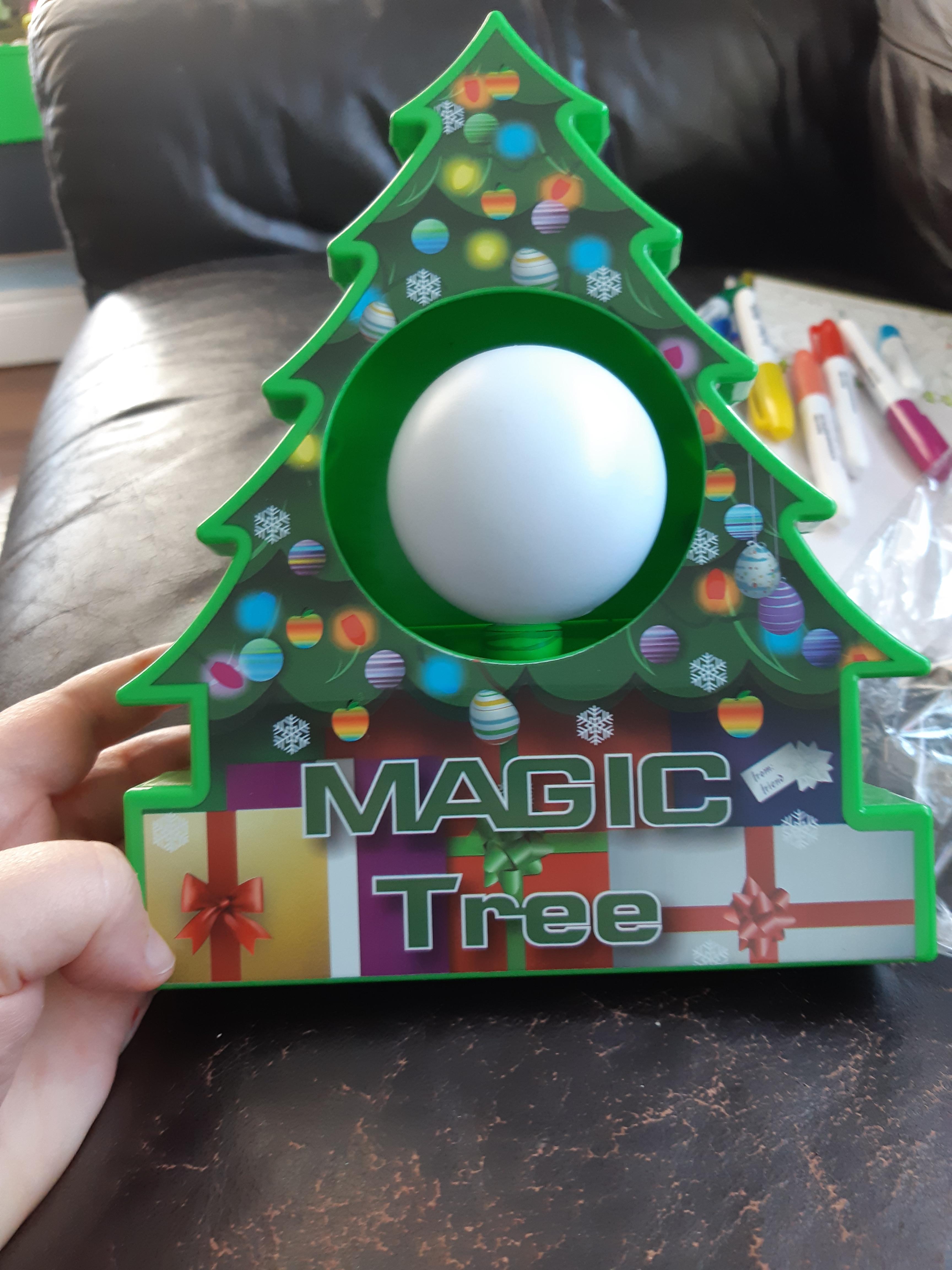 DIY Christmas Tree Ornament Coloring Kit photo review