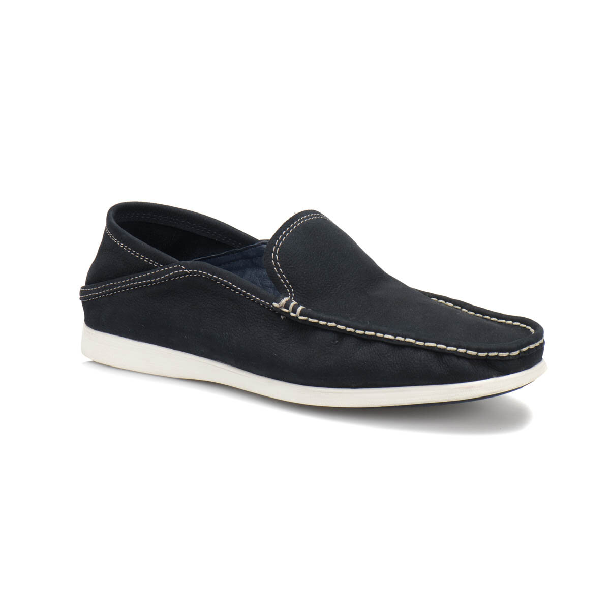 FLO 163 M Navy Blue Mens Marin Shoes Overside