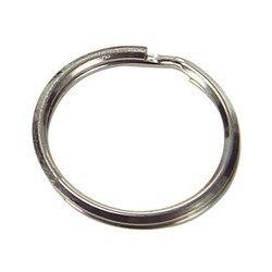 Ring Schlüssel ring Nickel-Überzogene 1,4x16x12mm. (Tasche 1000 PCs)