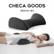 CHECA GOODS I shaped pillow Waist pad memory foam cotton Bedding Body Pillow Long Side Sleeper