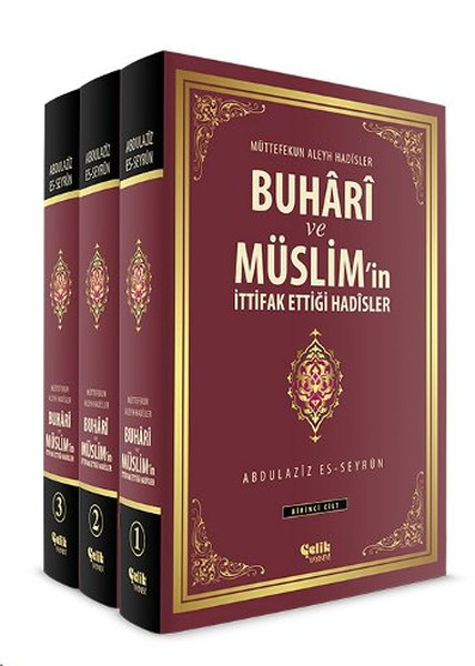 Bukhari and Müslim'in Alliance That Hadisler (3 Volume Set) Abdulaziz es-Seyrun Steel Publishing House (TURKISH)