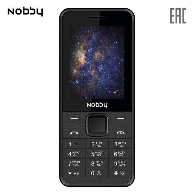 Мобильный телефон Nobby 200 , 2 симкарты, ThreadX, камера, фотокамера, цветной дисплей