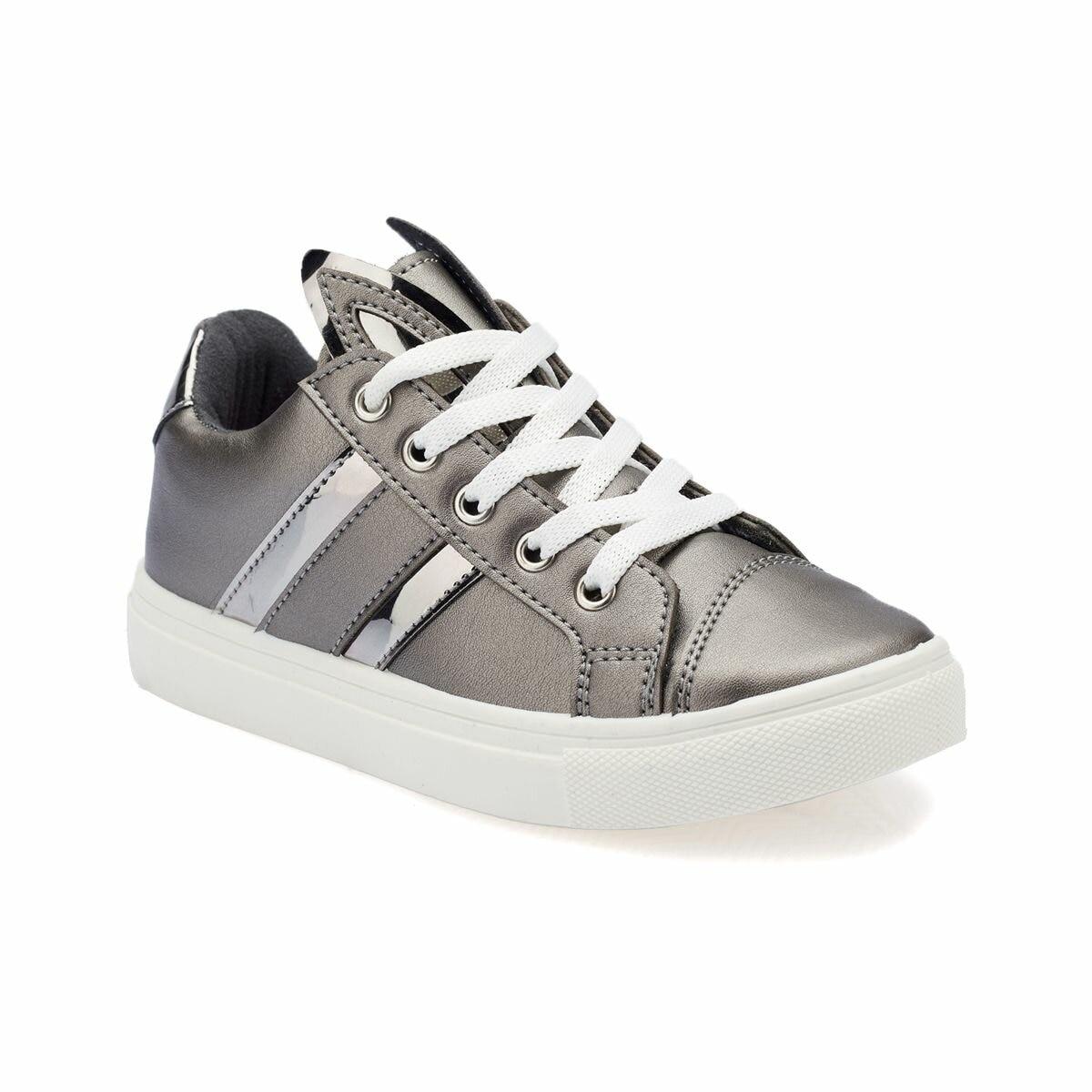 FLO 82.510744.P Silver Female Child Sneaker Shoes Polaris