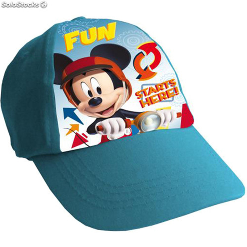 Blue Mickey Mouse Child Cap.