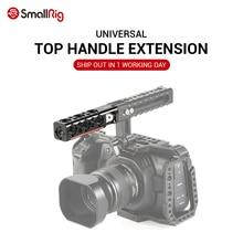 SmallRig DSLR kamera kafesi kolu kavrama üst kolu düz uzatma 1/4 iplik ile delik ve Arri yerleştirme delikli HTR2297