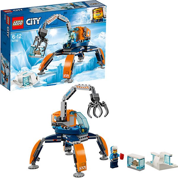 Lego City Arctic Expedition 60192: Arctic rover цены