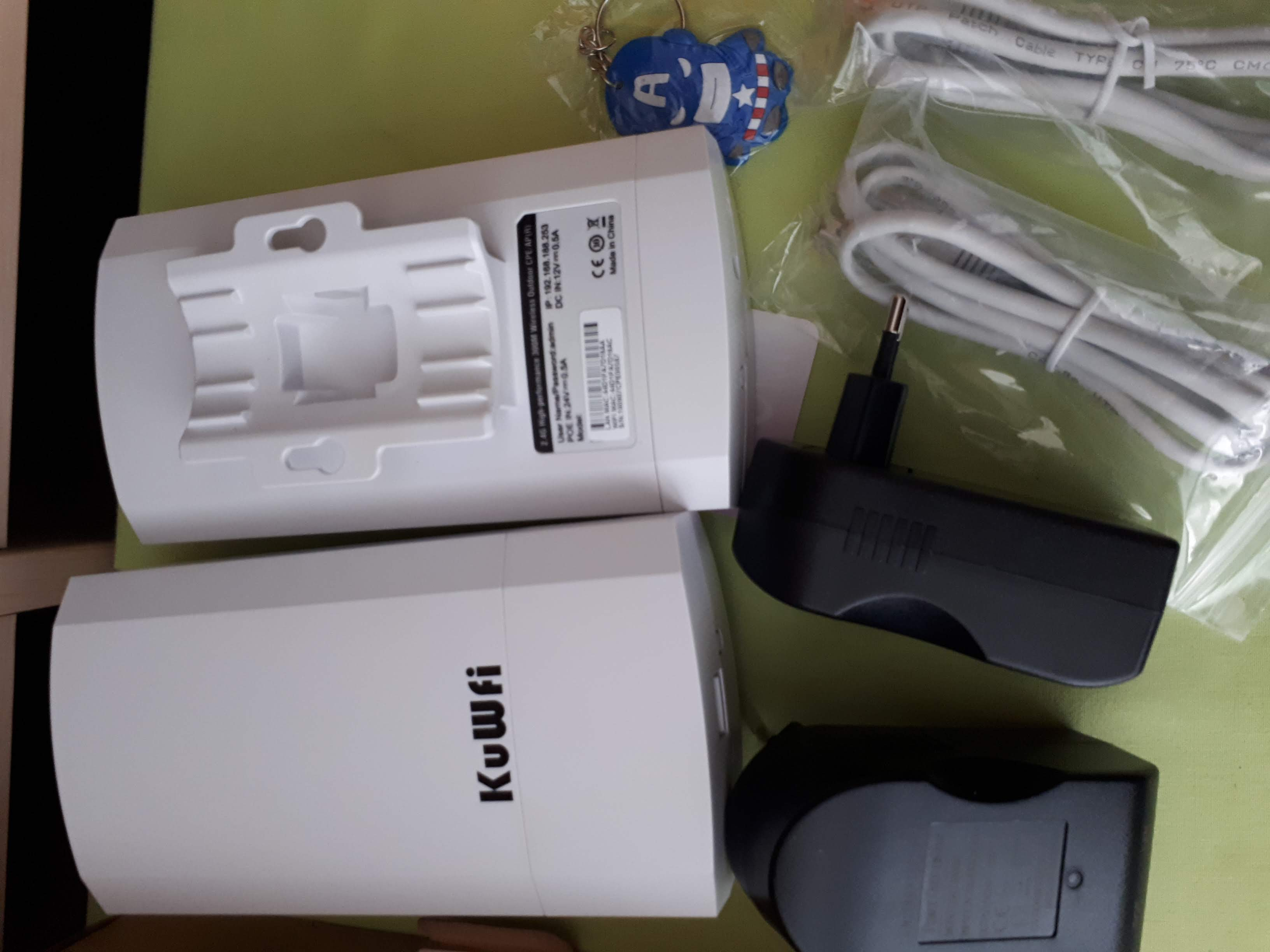 Kuwfi Router 2KM wireless outdoor CPE WIFI Access point AP Repeater