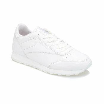 FLO dolny PU M białe męskie tenisówki KINETIX tanie i dobre opinie Sztuczna skóra