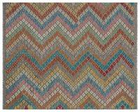 Handmade Natural Afegão Tribal Tapete de Área Tapete 160x196 Cm-5 '3''X6'5''