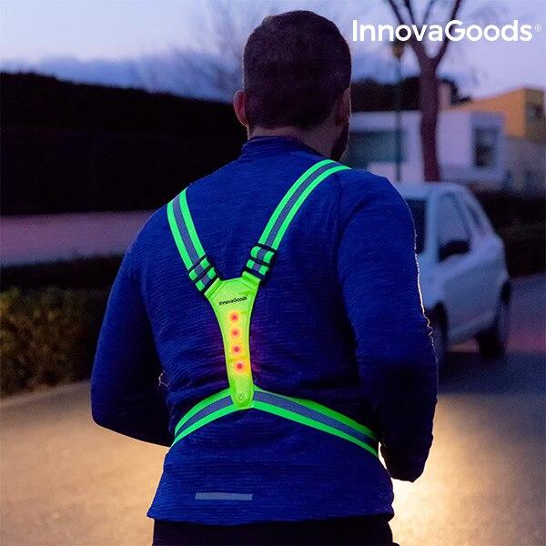 InnovaGoods LED Reflective Running Vest