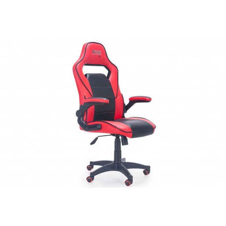 Armchair Gamer Sport Office Office Or Studio In Simile Skin.