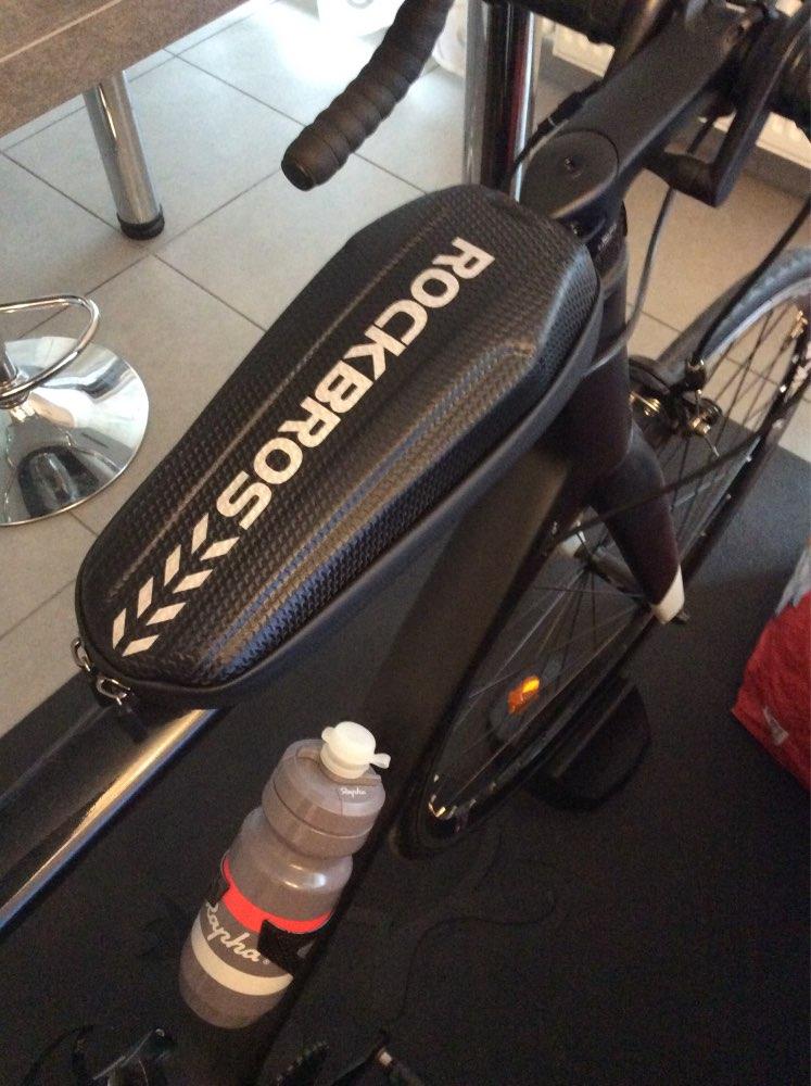 Waterproof Portable Large Capacity Bicycle Tube Bag photo review