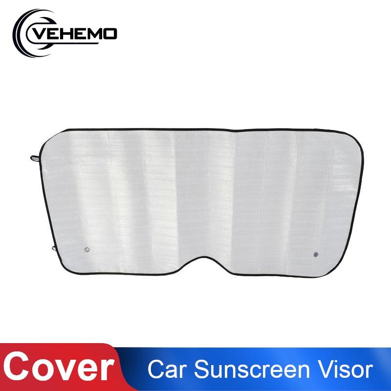 Car Window Sun Shade Curtain UV Protection Windshield Foam Sunshade Sun Cover Auto Vehicle Front Window Sunshade