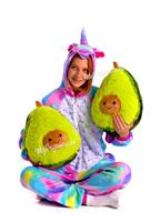 Plush stuffed toys avocado, size 20, 30 and 40 centimeters.