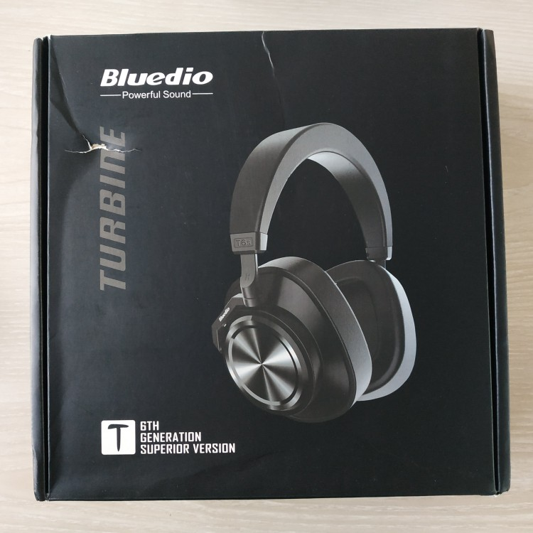 Bluedio T6S Bluetooth Headphones Active Noise Cancelling  Wireless Headset for phones and music with voice control-in Phone Earphones & Headphones from Consumer Electronics on AliExpress