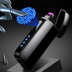 Elektroniczna zapalniczka plazmowa wiatroodporna elektroniczna ładowarka USB do palenia papierosów elektryczna podwójna zapalniczka łukowa w Akcesoria do papierosów od Dom i ogród na