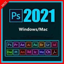 Adobe CC - 2021 Win 10 / Mac - Photoshop, Illustrator, After effets, Premier Pro, InDesign, lighroom ..