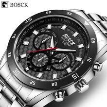Bosck мужские спортивные часы на открытом воздухе 30 м водонепроницаемые