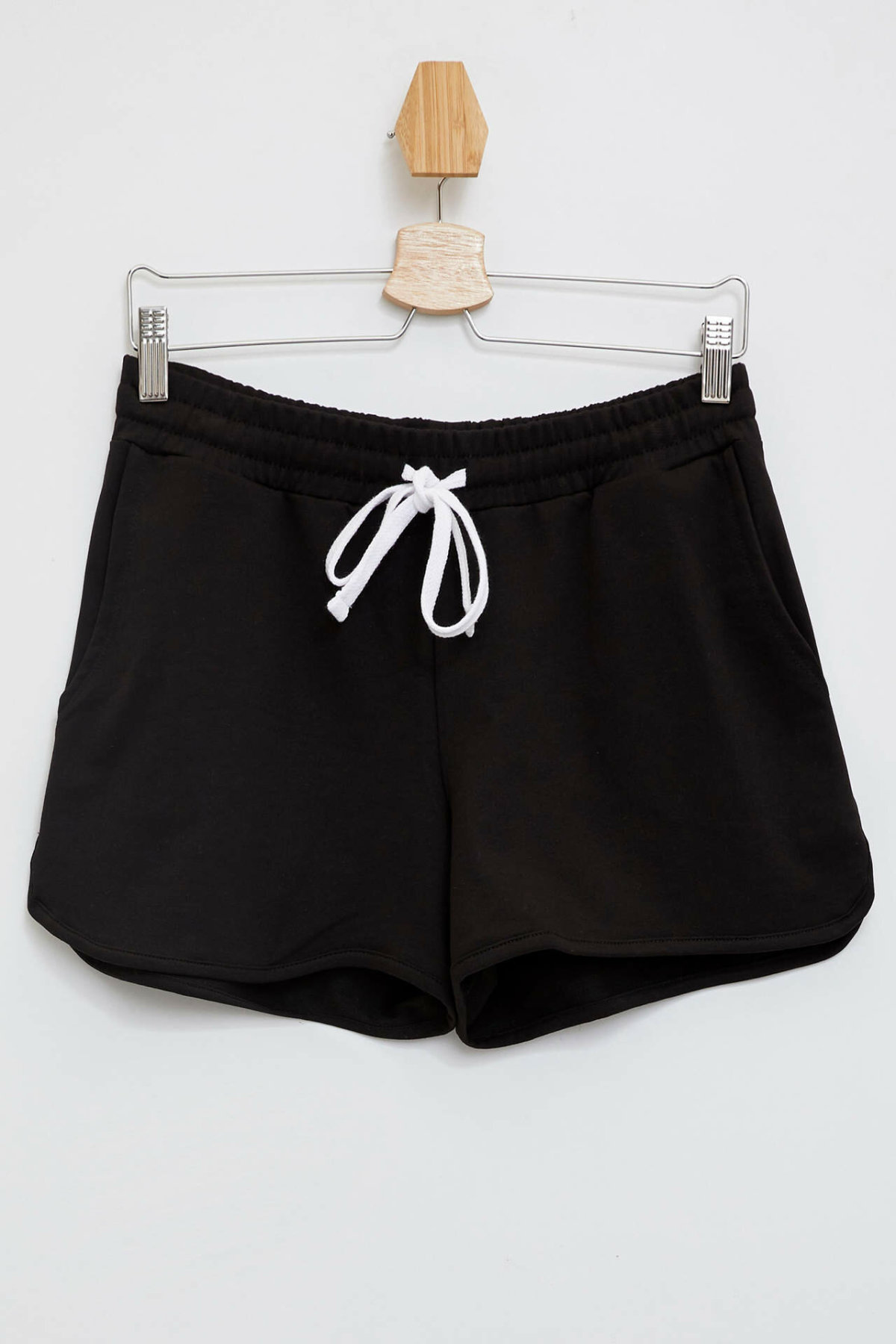 DeFacto Woman Summer Black Shorts Women Lace-up Mini Short Bottoms Female Shorts-M5045AZ19HS