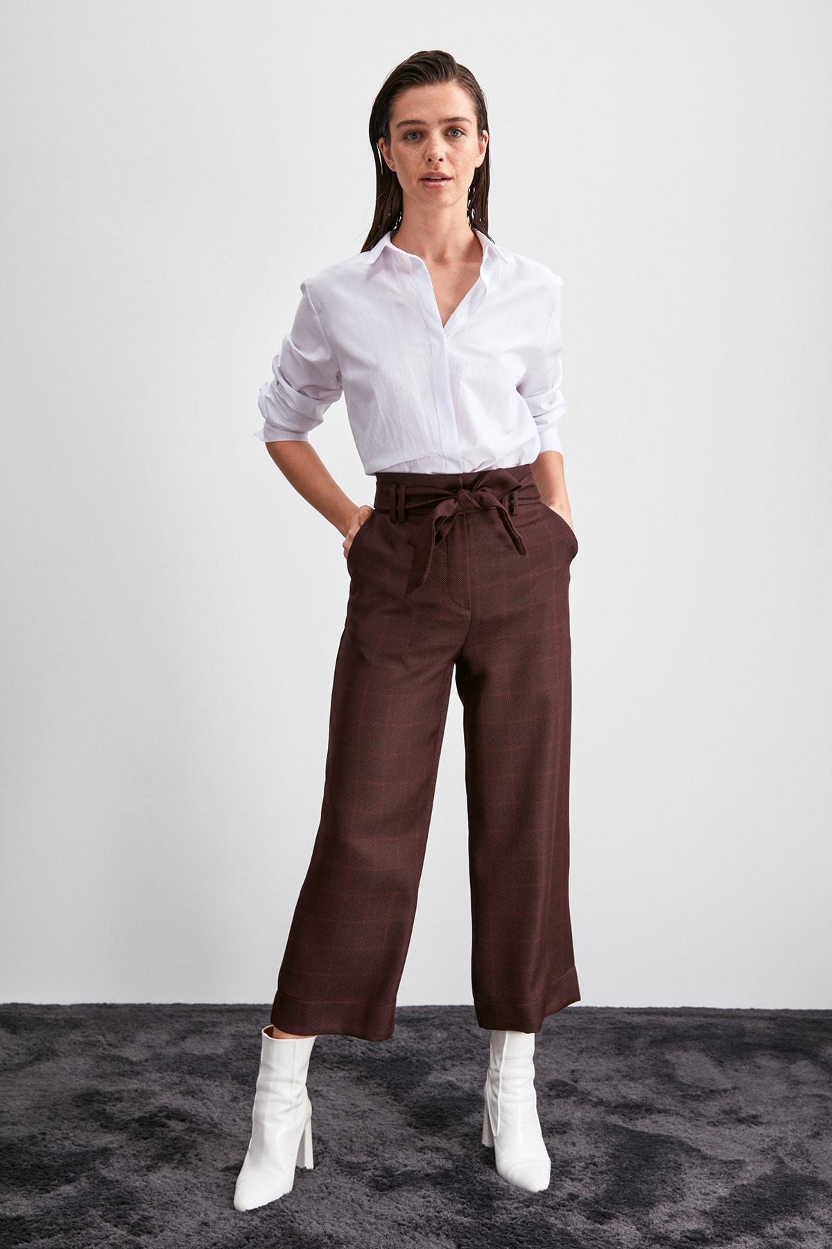 Trendyol Lacing Detailed Pants TWOAW20PL0543