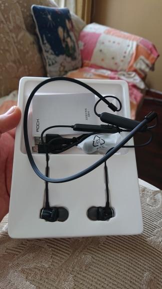 ROCK Magnetic Wireless Bluetooth Earphone with Mic Sport Headset Stereo Earbuds Neck Headset Bass Stereo Handsfree In ear Bluetooth Earphones & Headphones    - AliExpress