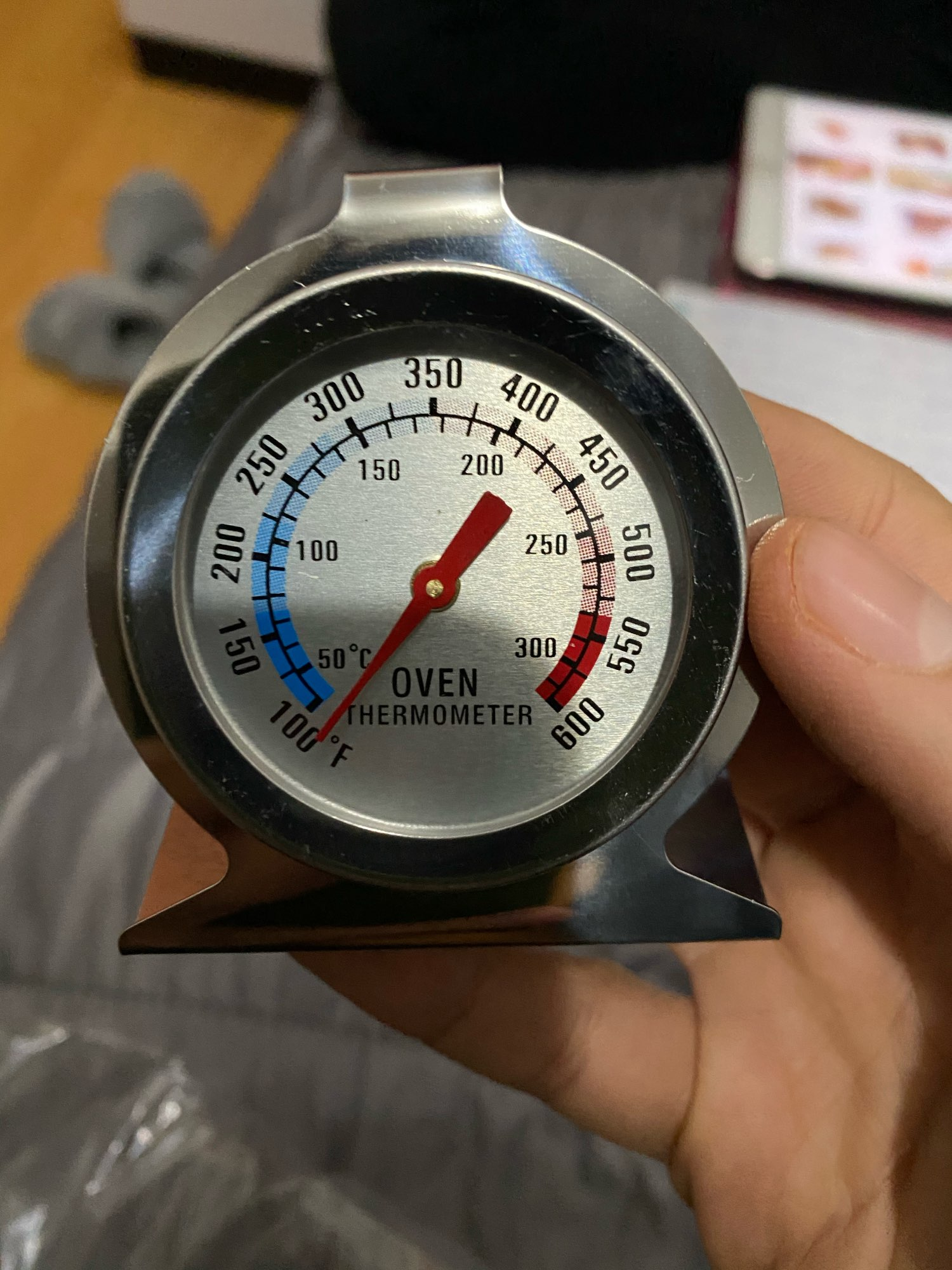 Stainless Steel Oven Kitchen Thermometer