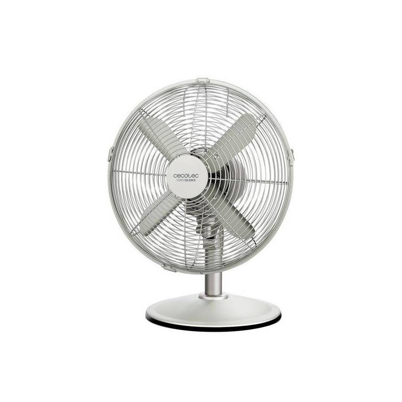 Fan Desktop Cecotec Forcesilence 570 Steeldesk 45W