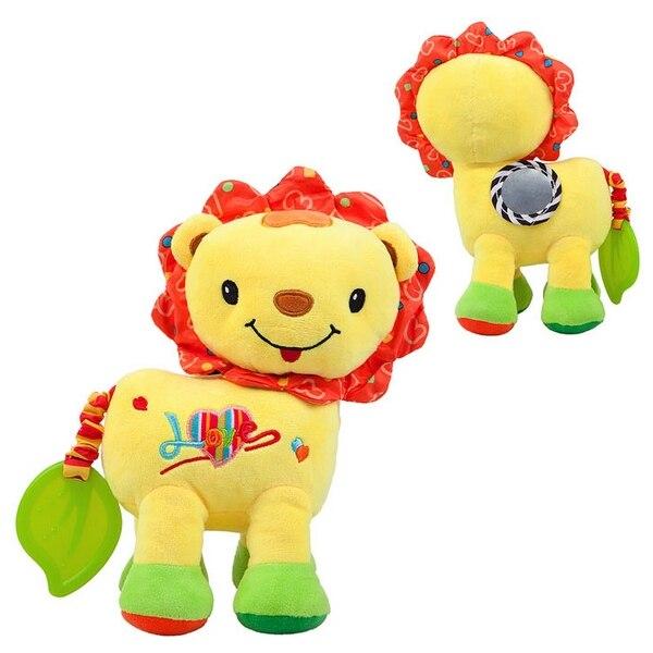Activity Soft Toy For Babies Nenikos Lion +3m 112214