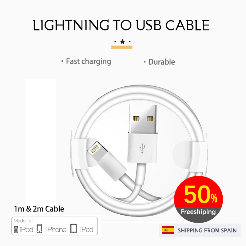 Lightning Cable IPhone Cable IPad Cable Apple Certified Lightning Cable MFI IPhone Charging Cable IPhone 7 Cable IPad 2 USB
