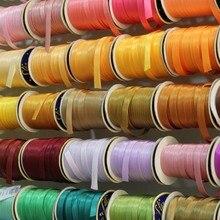 Новые цвета! 15мм Атласная косая бейка 144 yds/131,6 метров в боббине Тесьма Рукоделие Шитье