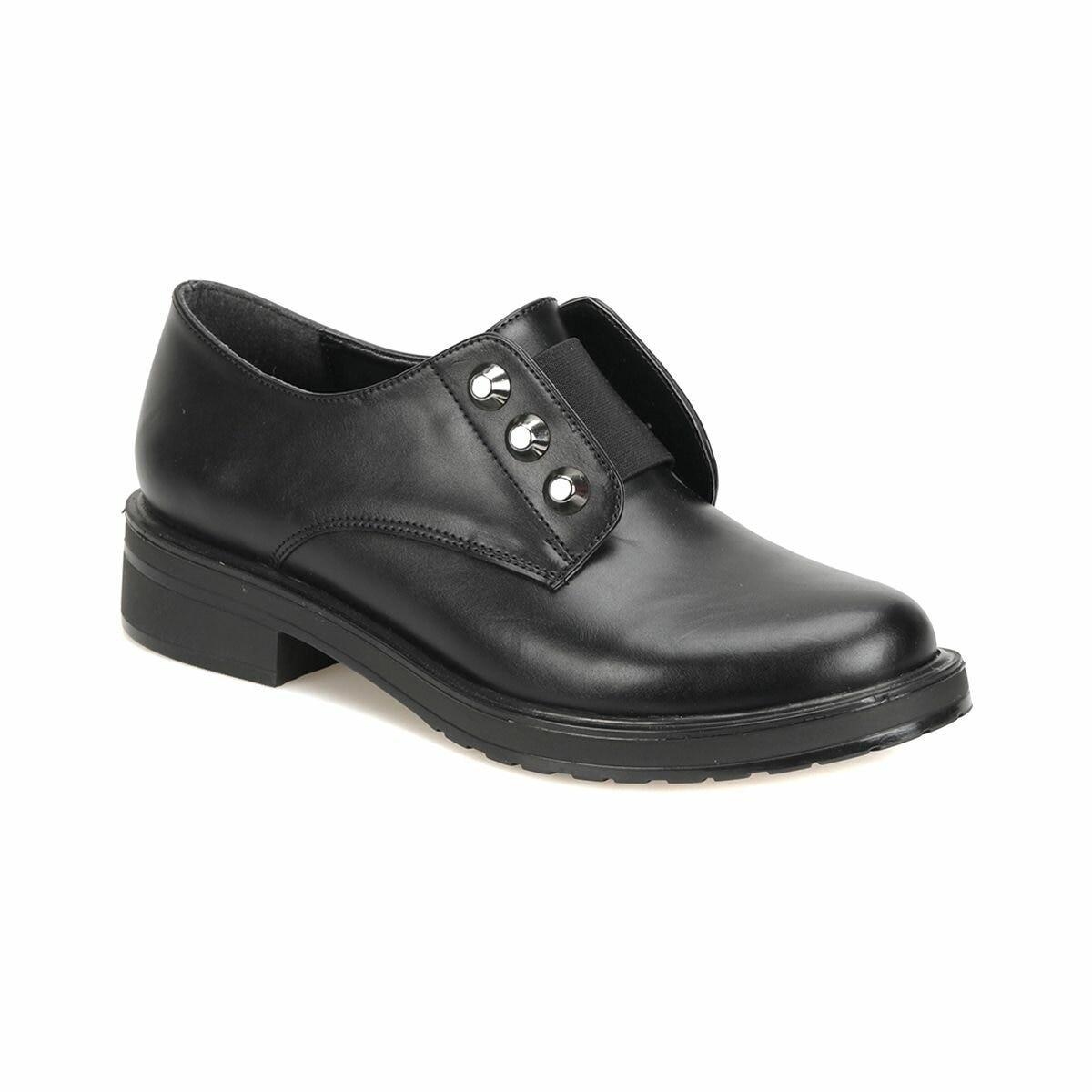 FLO 18K-025 Black Women Oxford Shoes BUTIGO