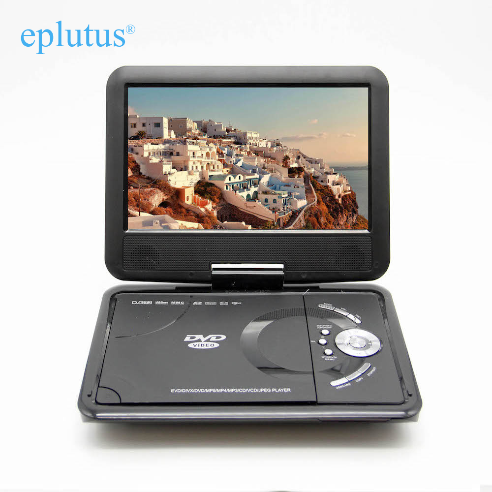 Eplutus 10 Inch DVD Player Portable With Digital Tuner DVB-T2 Ls-918t
