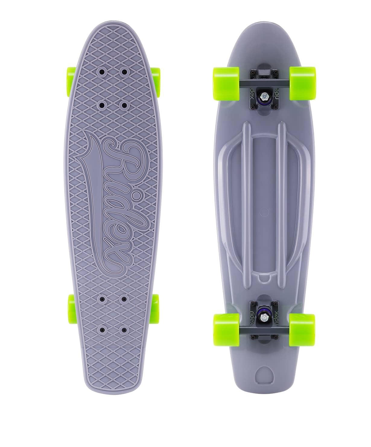 Skateboard Cruiser Plastic Ridex 27 ''x 8'', Abec-7, Cobalt