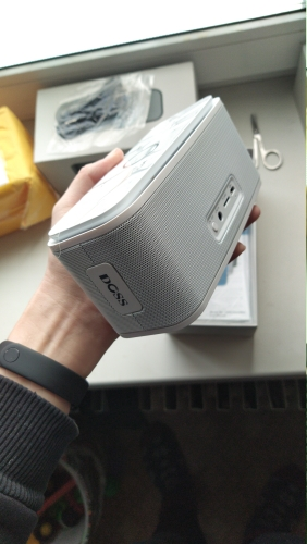 DOSS SoundBox Touch Control Bluetooth Speaker 2*6W Portable Wireless Speakers Stereo Sound Box with Bass and Built in Mic Portable Speakers    - AliExpress