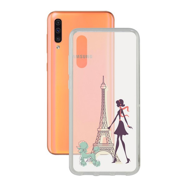 Mobile cover Samsung Galaxy A30s/a40/a50 Contact Flex France TPU|  - title=