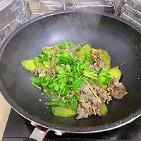 青瓜炒牛肉的做法图解12