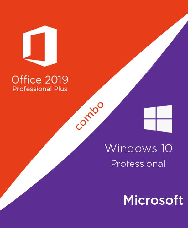 * Entrega instantânea * windows 10 pro chave + vida microsoft office 2019 profissional mais licença digital toda a linguagem chave global|Servidores| - AliExpress