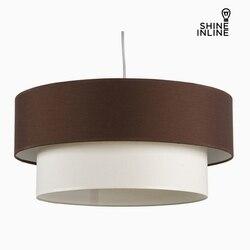 Sufit jasnobrązowy biały bawełna i poliester (20 cm) firmy Shine Inline w Wiszące lampki od Lampy i oświetlenie na