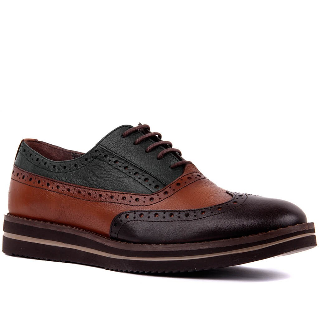 Image 3 - Sail Lakers Genuine Leather High Sole Men Daily Brogue Shoes Men  Formal Shoes Office Social Designer Wedding Luxury Elegant Male Dress  ShoesMens Casual Shoes