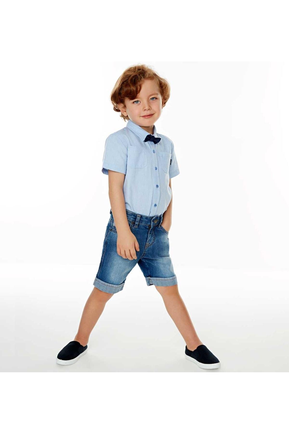 Wonder Kids Male Child Denim Shorts 010-7264-012