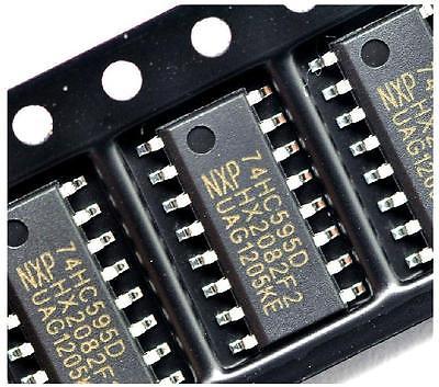 Sn74hc595n/D, 8-bit Shear Case In DIP/sop Case-16-4 PCs (Type корпуса-sop-16)